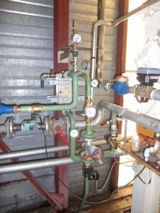 récupération d'énergie purges de chaudière